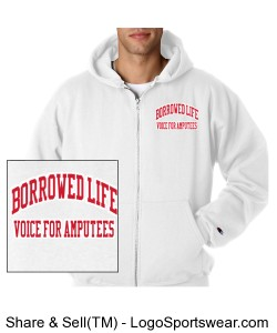 "Borrowed Life ""Voice for mputees"" Design Zoom"