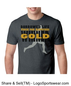 Borrowed Life Win for Gold T Shirt Design Zoom